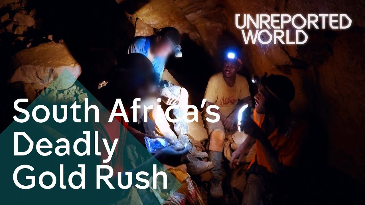 Searching for gold in South Africa's abandoned mines   Unreported World