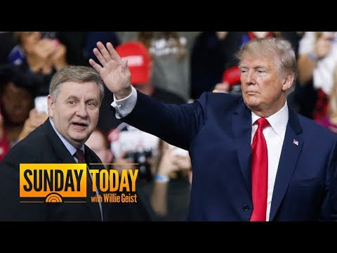President Trump Campaigns For Rick Saccone, But Makes The Speech About Himself | Sunday TODAY