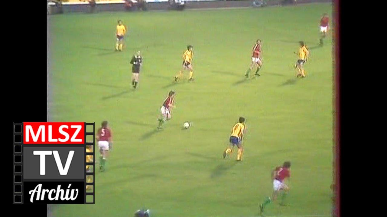 Magyarország-Románia | 1-0 | 1981. 05. 13 | MLSZ TV Archív