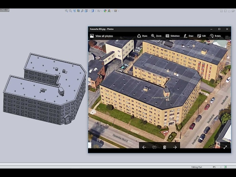 Google Maps to 3D CAD