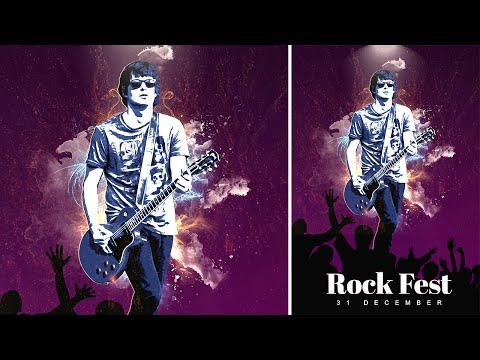 Concert Poster | Photoshop Manipulation Tutorial