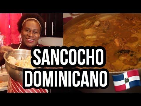 Como Hacer : Un Sancocho Dominicano Con La Mama Muse!