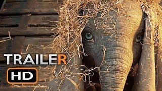 Dumbo Official Trailer #1 (2019) Tim Burton Disney Movie HD
