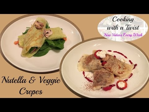 Crepes Recipe - Dessert Crepes - Breakfast Crepes Recipe - Crepe Batter - French Crepes Recipe