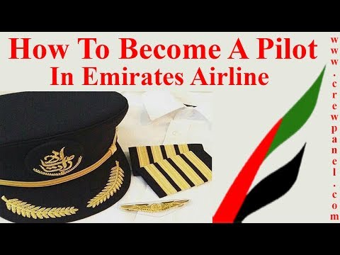 How to become a pilot in Emirates Airline | First Officer job requirements in Emirates Airline