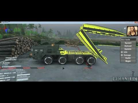 SpinTires - Maz Mechanical Bridge 18/10/16 Upgrade
