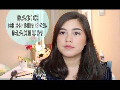 Basic beginners makeup tutorial | SarahAyu