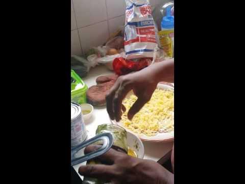 How to make Trinidadian corn pie