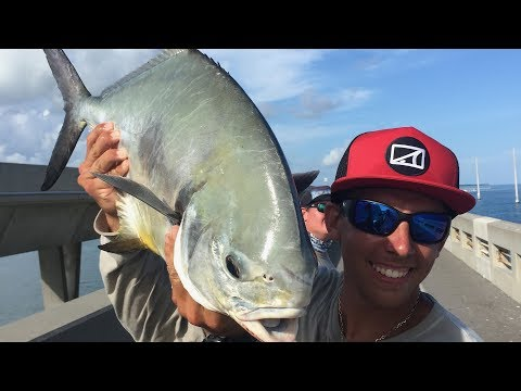 This FISH Will Outsmart YOU! (EPIC Florida Keys Permit Bridge Fishing)