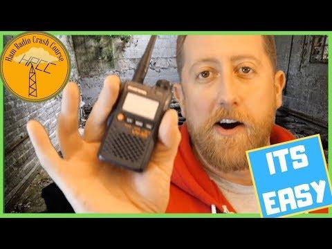 HAM Radio Crash Course 2- Get Licensed