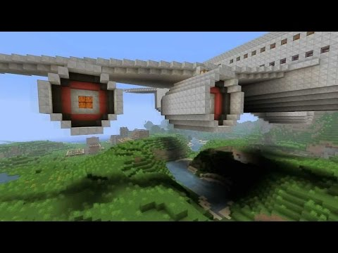 How to build a plane in minecraft Xbox 360