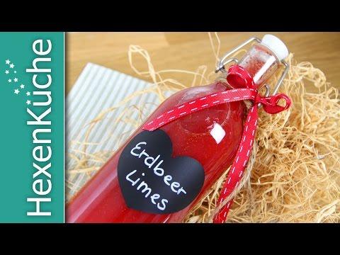 Erdbeerlimes | Thermomix TM5 Rezept | schnell & einfach | Erdbeer Likör