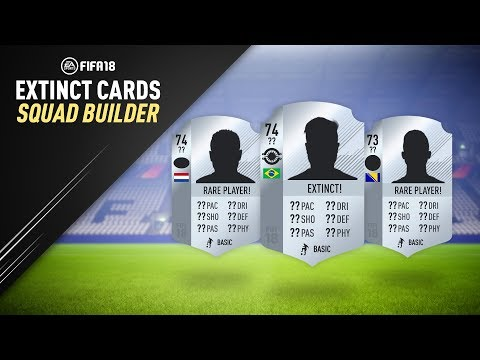 EXTINCT PLAYERS SQUAD BUILDER! w/ RAREST PLAYER IN FIFA 18! | FIFA 18 ULTIMATE TEAM