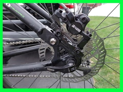 how to convert  mountain bike from V brake to disc brake