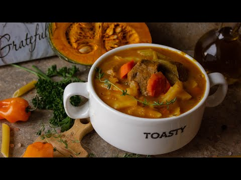 Haitian Soup Joumou Recipe   How To Make Soup Joumou    Episode 70