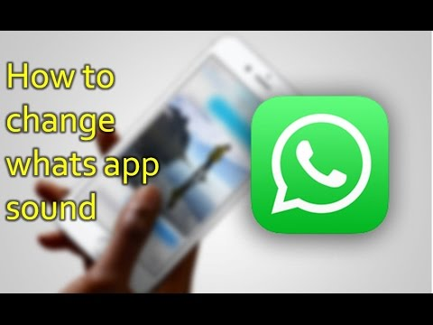 How to Change Whats App Notification Sound in Iphone