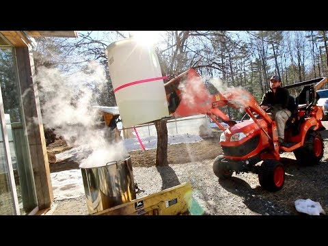 Best Way I've Boiled Our Maple Syrup