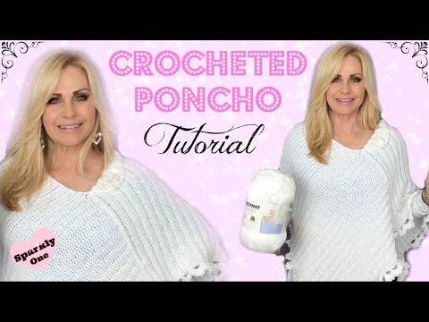 💖 Crocheted Poncho 💖 Tutorial 💖