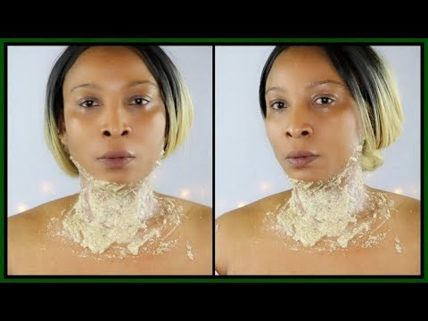 HOW TO GET RID OF NECK WRINKLES AND SAGGING JAWLINE | GET RID OF TURKEY NECK FAST |Khichi Beauty