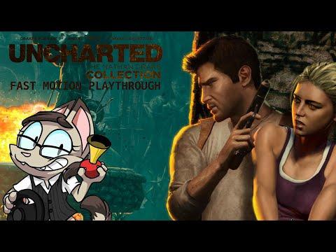 FAST MOTION TREASURE HUNTING - Uncharted: Nathan Drake Collection #2