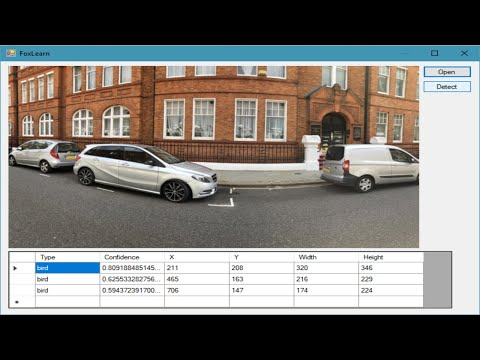 C# Tutorial - Object Detection Alturos Yolo C# Application