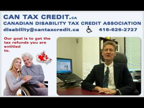 Canadian-disability-tax-credit-association.ca | Tax Refunds, Get your money back, CRA