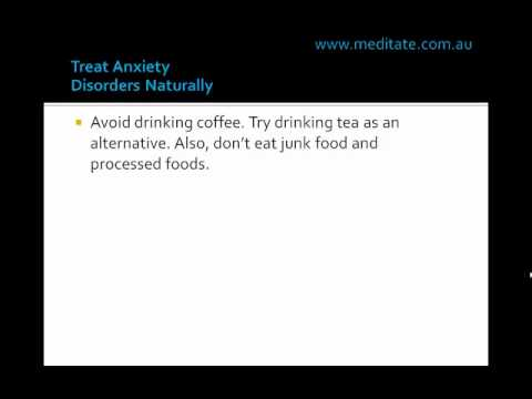 Treat Anxiety Disorders Naturally.wmv