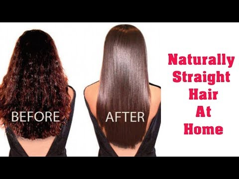 Hair Straightening Without Iron I The Beauty Cuts