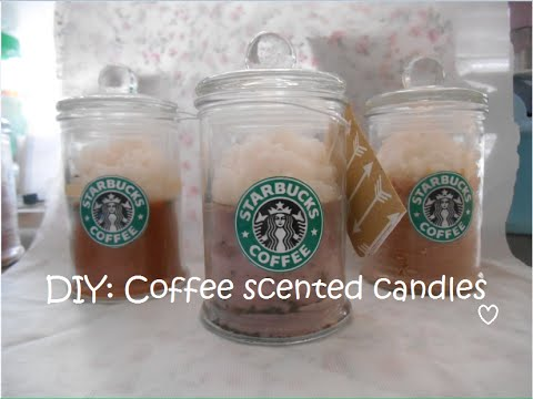 DIY: Coffee Scented Candles