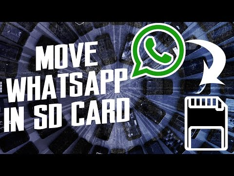 How to move Whatsapp external SD card | AndroTrix