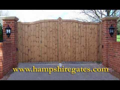 Wooden Gates Hampshire by Hampshire Gates