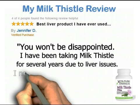 Milk Thistle Review - My Genuine Milk Thistle Review For Liver Detox