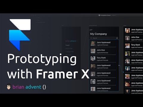 iOS Design Tutorial: Prototyping and its Benefits with Framer X