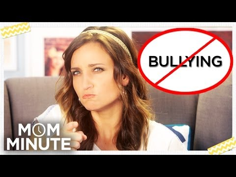 How to Deal with Bullies: Mom Minute with Mindy of CuteGirlsHairstyles