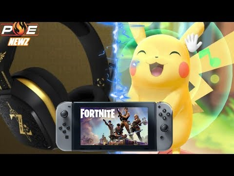 Pokemon Let's Go Online Play, SICK Astro A10 Zelda Headset & Fortnite Rated for Switch! | PE NewZ