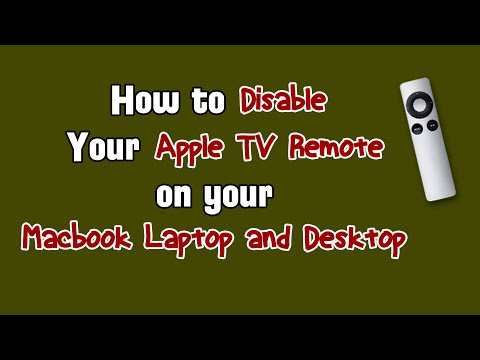 DIY | Disabling the Apple TV Remote