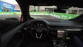 Audi Q7 Piloted Driving Concept interior