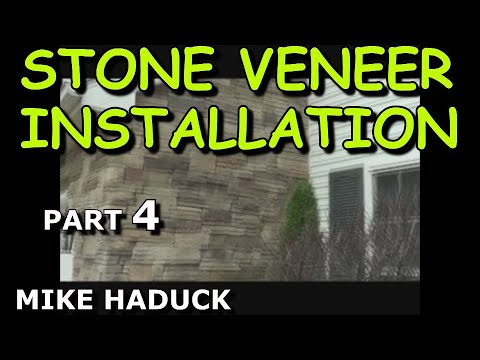 How I install stone veneer (part 4 of 7) Mike Haduck
