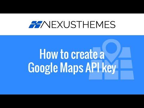 NexusThemes.com #1509 - How to create Google Maps API key - Step by step