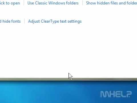 How to adjust the window glass colors in Windows