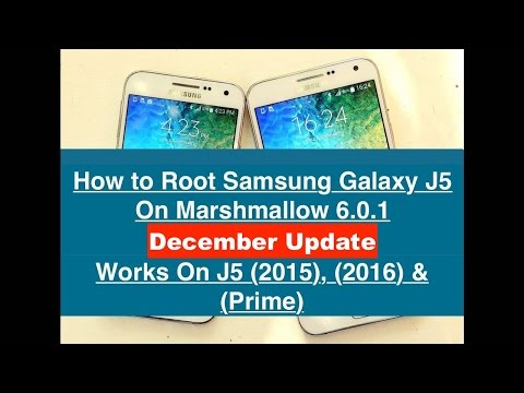 How To Root Samsung Galaxy J5 - Marshmallow 6 0 1