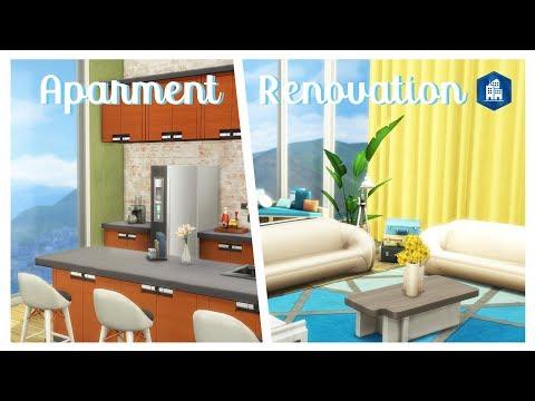 Sims 4 | Apartment Renovation | 888 Spire Apartments