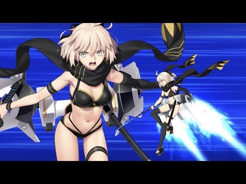Xxx Mp4 【FGO】Summer Okita J Souji Assassin NPC Demo Vs Mysterious Heroine XX 3gp Sex
