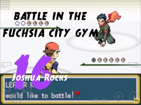 POKEMON FIRE RED | WALKTHROUGH | FUCHSIA CITY GYM