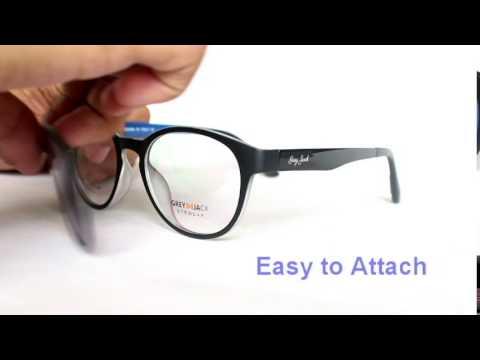 d245432c62 Magnetic Clip-On Glasses