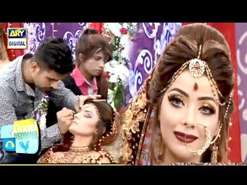 TUTORIAL: Pakistani Bridal Hair Style - Makeup and More