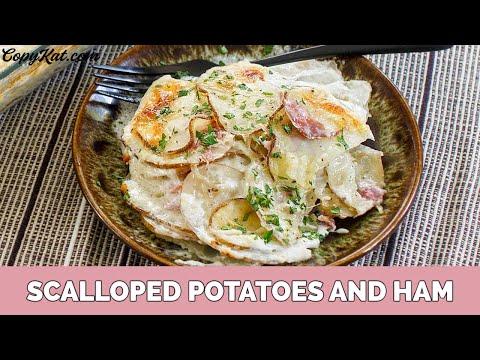 How to Make Scalloped Potatoes and Ham