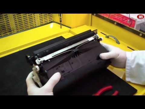 How to refill Lexmark T652 toner cartridge
