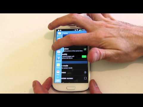 Samsung Galaxy S3 4.2.2 sneak peek Lock Screen Widgets and new Settings area