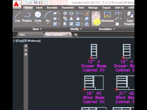 How to show menu bar in autocad 2016